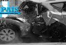 Aparatoso accidente ocurrido en la Avenida Petapa de la ciudad de Guatemala