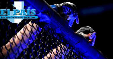 Luchador de MMA destroza la nariz de su rival
