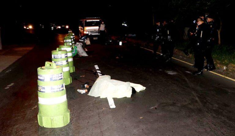 Fallece motorista en San Cristóbal