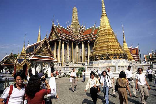 El templo budista de Wat Phra Kaeo, en Bangkok