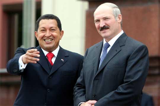 Chavez Lukashenko Belarus Gazprom Gas Debt Loan Venezuela Beltransgaz