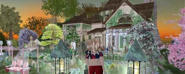 Escenario de Second Life-