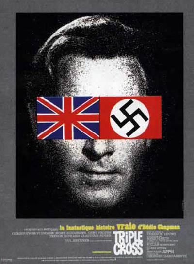 Cartel de la pel�cula Triple Cross, basada en la vida del esp�a Eddie Chapman-