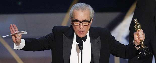Martin Scorsese recoge el Oscar al Mejor director por el filme 'Infiltrados'