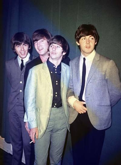 The Beatles en una foto de 1964