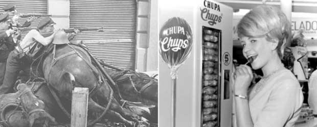 Imagen publicitaria de Chupa Chups (1976).