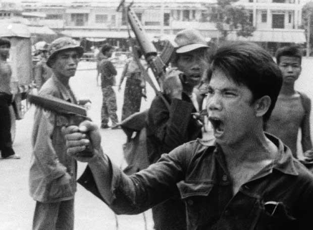Brutal evacuación de la capital, Pnom Penh