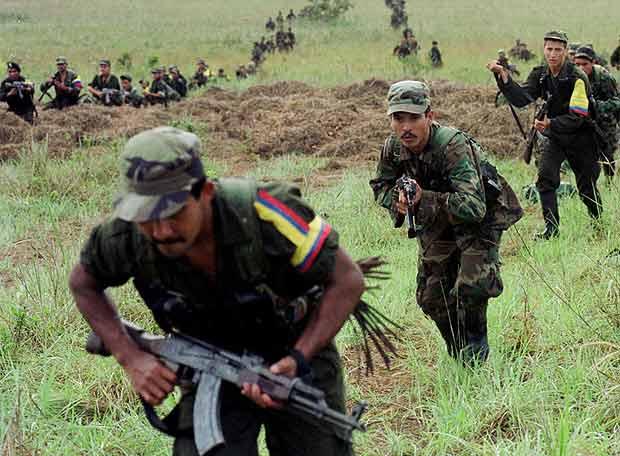 Guerrilleros de las FARC