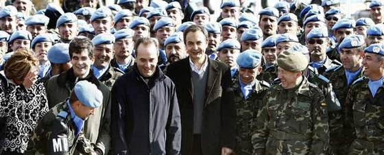 En ZP al Líban fa dos anys...