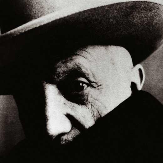 Retrato del pintor español Pablo Ruiz Picasso