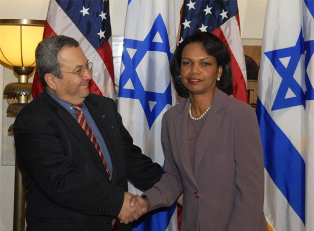 Condoleezza Rice en Jerusalén