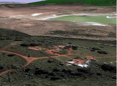 Imagen del programa cartográfico Google Earth