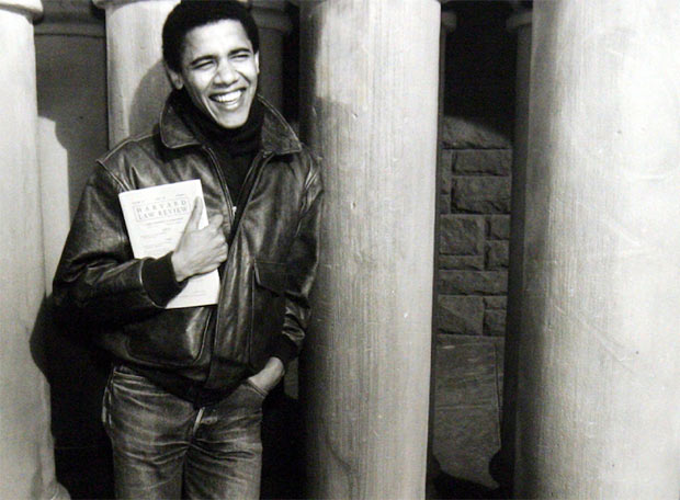 Obama, estudiante