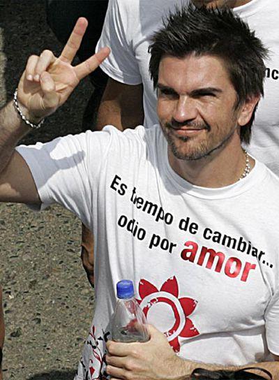 Juanes con Colombia