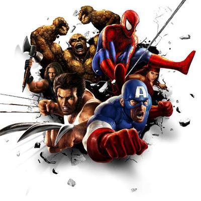Dibujos de superhéroes