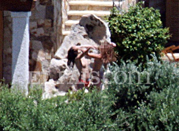 Chicas en Villa Certosa