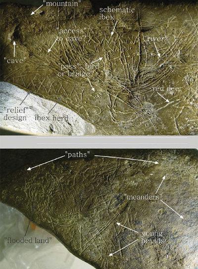 El mapa más antiguo de Europa Occidental