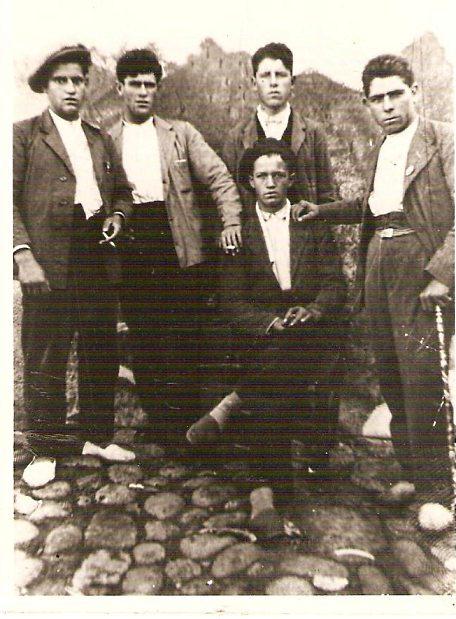 Los cinco hombres de Villanueva de la Vera (Cáceres) obligados a cavar su propia tumba