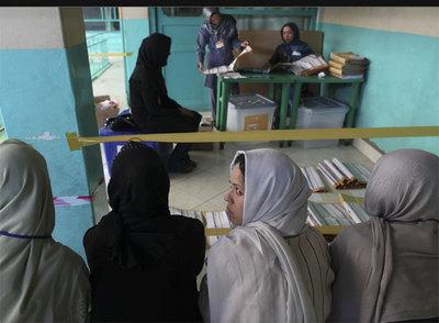 Jornada democrática en Afganistán (????)