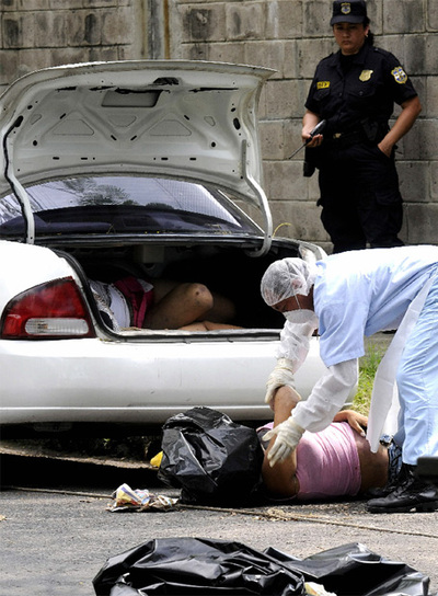 Ola de homicidios en El Salvador