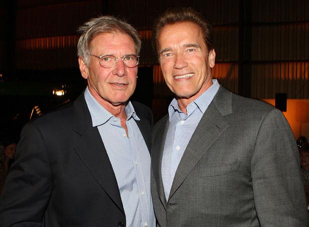 Arnold Schwarzenegger y Harrison Ford