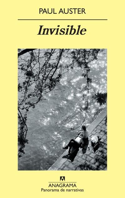 Portada de 'Invisible', de Paul Auster