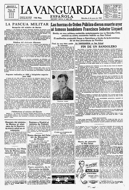 La lucha de Quico Sabaté  - Propaganda