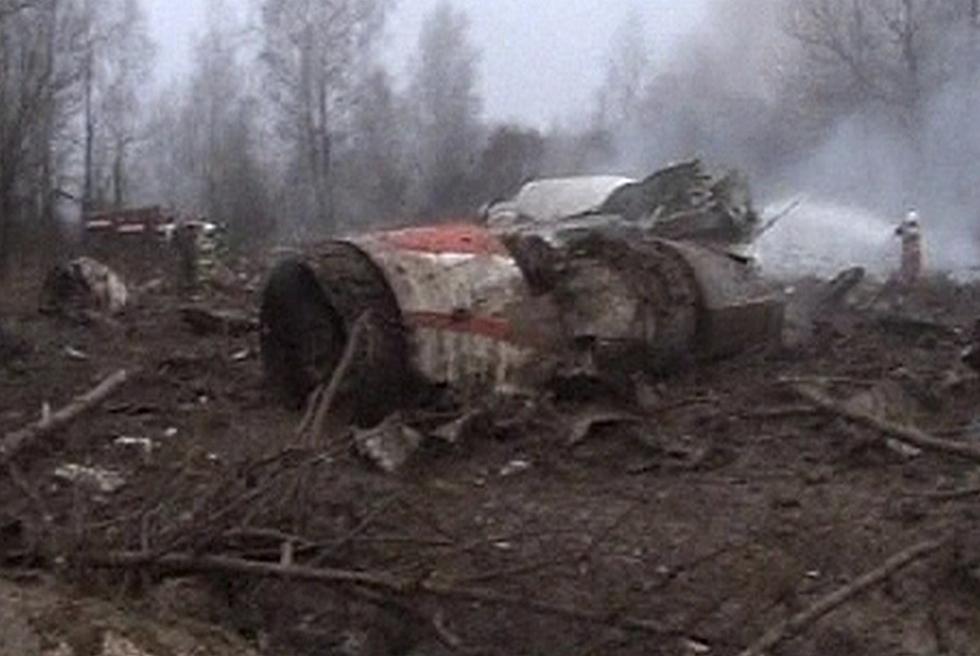 Muere en un accidente aéreo el presidente de Polonia  - En el aterrizaje