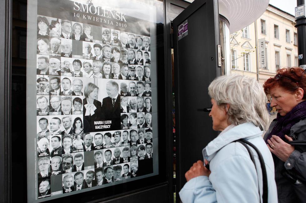 Polonia llora a Kaczynski  - Las caras de la tragedia