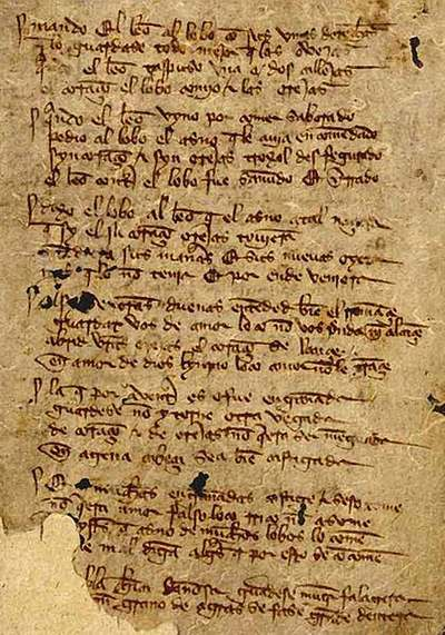 Manuscrito original