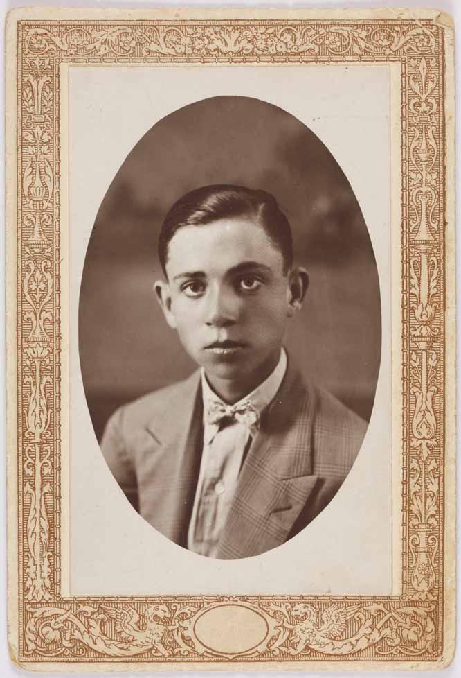 Miguel Hernández a los 14 años, 1924