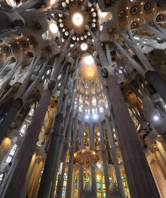 Vista general de la Sagrada Familia