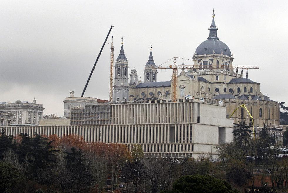 El Museo de Colecciones Reales cubre la Almudena