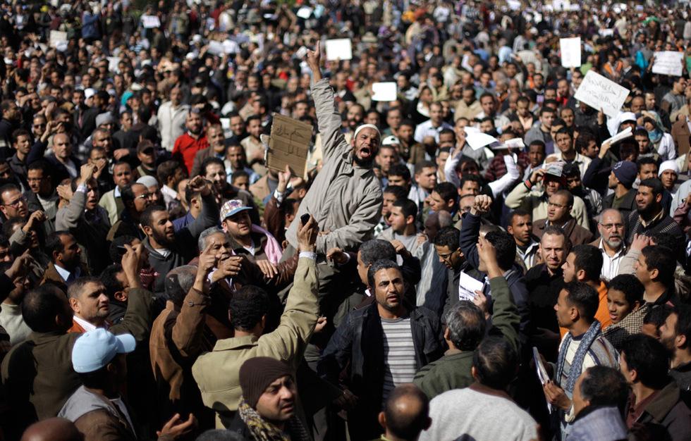 Protestas en Egipto  - Manifestantes
