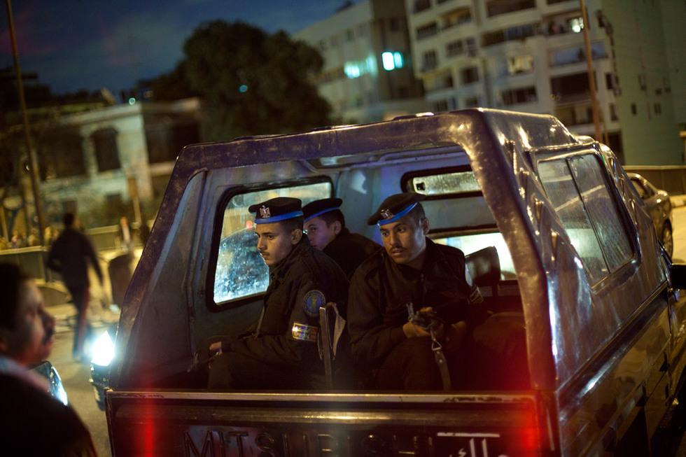 Policías inspeccionados