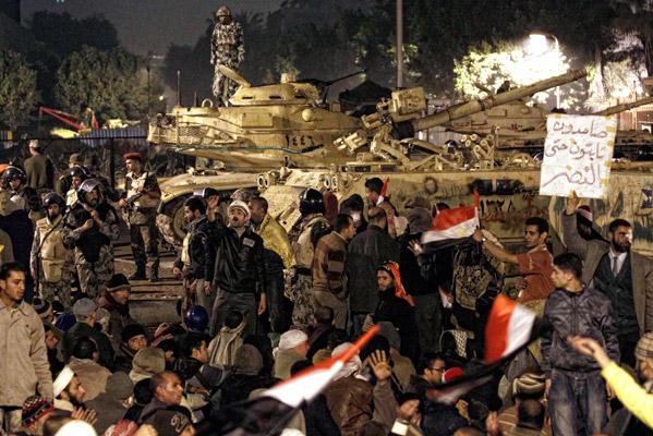 La noche en el Cairo
