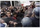 Manifestación en Rabat