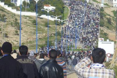 Jornada de protestas en Marruecos