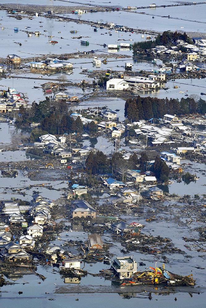 Terremoto en Japón  - Barcos fuera del mar