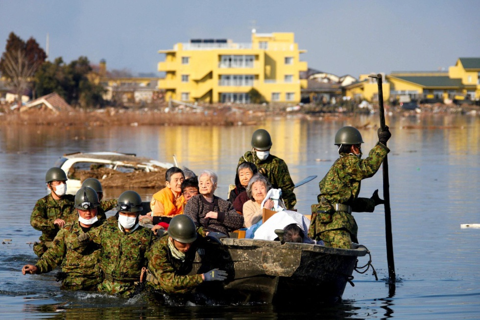 La crisis más grave desde 1945  - En barca