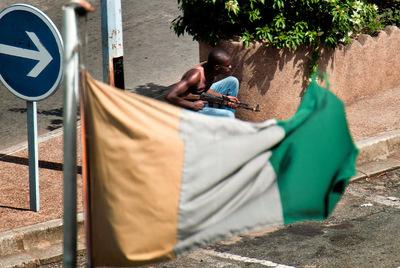 Combates en Abiyán