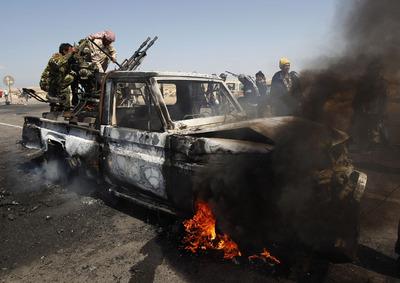 Decepción entre los sublevados libios