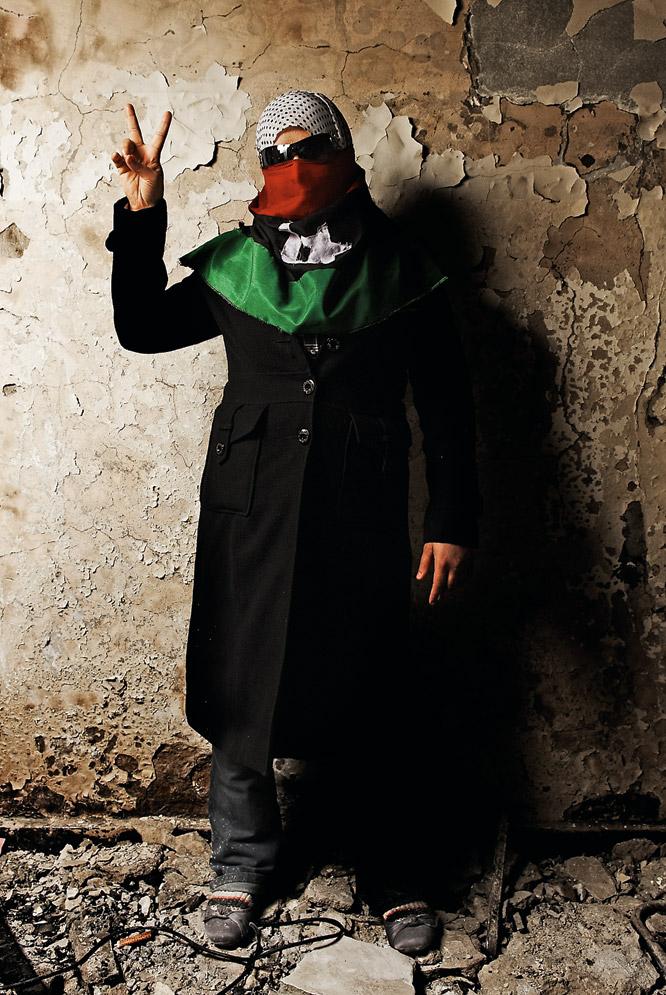 Retratos de rebeldes libios  - La estudiante de informática