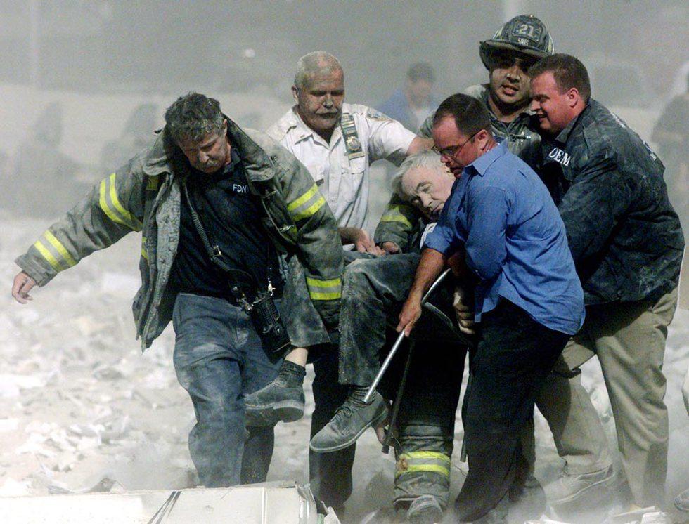 Los atentados del 11-S  - Rescate de una víctima
