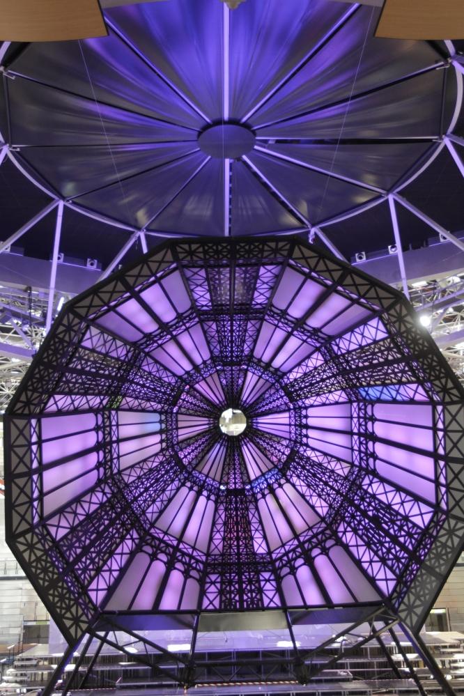 Madrid Arena St. Francis Purple Cupula