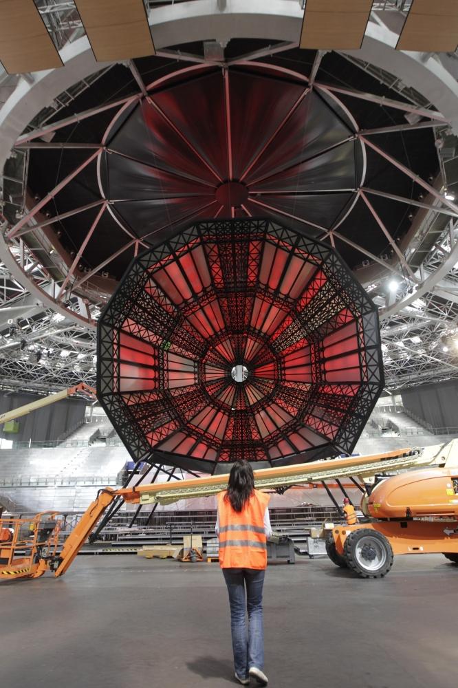 Madrid Arena St. Francis Cupula Installation