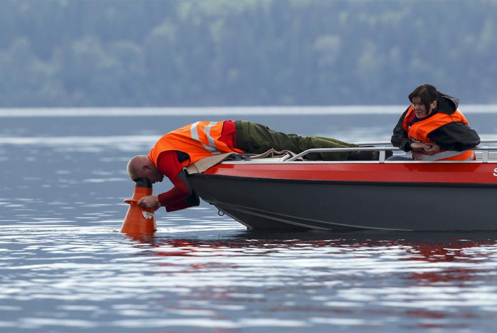 Doble atentado en Noruega - Búsqueda de cadáveres