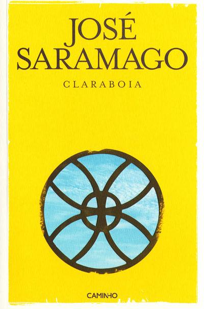Portada portuguesa de 'Claraboya', de Saramago