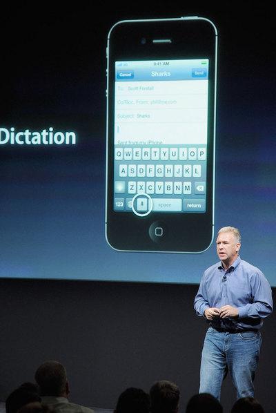 Phil Schiller, de Apple, presenta el iPhone 4S