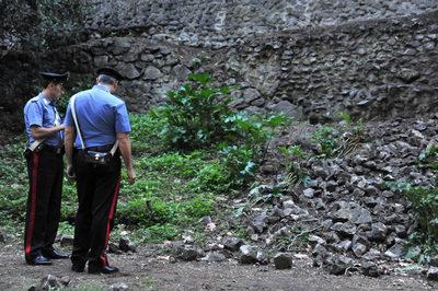 La policía vigila en Pompeya